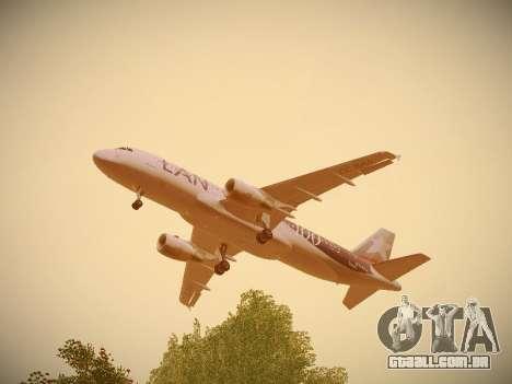 Airbus A320-214 LAN Airlines 100th Plane para GTA San Andreas interior