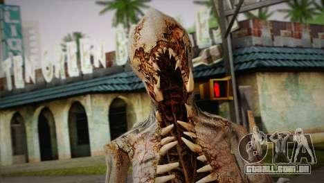 Monstro do jogo Dead Spase 3 para GTA San Andreas terceira tela