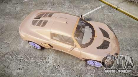 Lotus Exige para GTA 4 vista direita
