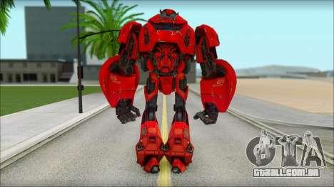 Cliffjumper para GTA San Andreas segunda tela