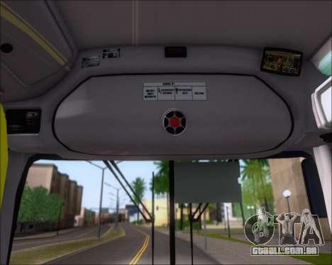 Marcopolo Torino 2007 Volksbus 17-230 EOD para GTA San Andreas vista inferior