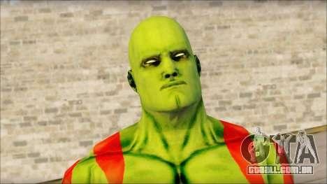 Guardians of the Galaxy Drax para GTA San Andreas terceira tela