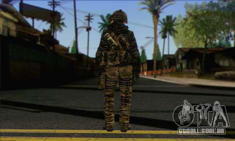 Task Force 141 (CoD: MW 2) Skin 8 para GTA San Andreas segunda tela