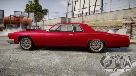 Albany Buccaneer Modified para GTA 4 esquerda vista