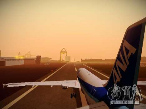 Airbus A320-211 All Nippon Airways para GTA San Andreas