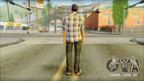 GTA 5 Jimmy Boston para GTA San Andreas segunda tela
