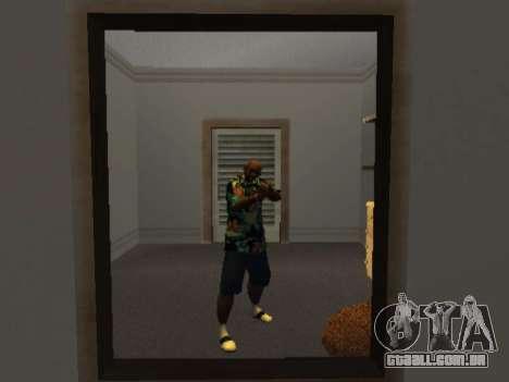 Camisa havaiana como max Payne para GTA San Andreas segunda tela