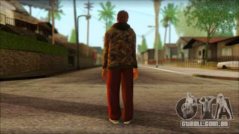 GTA 5 Ped 9 para GTA San Andreas segunda tela
