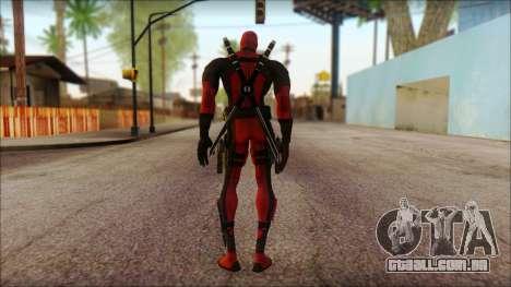 Classic Deadpool The Game Cable para GTA San Andreas segunda tela