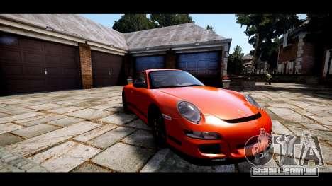 Porsche 911 GT3 RS para GTA 4 vista interior