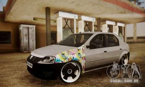 Dacia Logan Sedan Tuned para GTA San Andreas