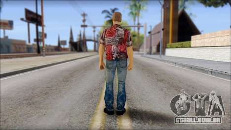 Biff from Back to the Future 1955 para GTA San Andreas segunda tela