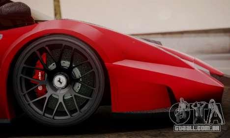 Ferrari Gemballa MIG-U1 para GTA San Andreas traseira esquerda vista
