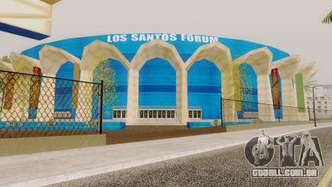 Novas texturas estádio em Los Santos para GTA San Andreas