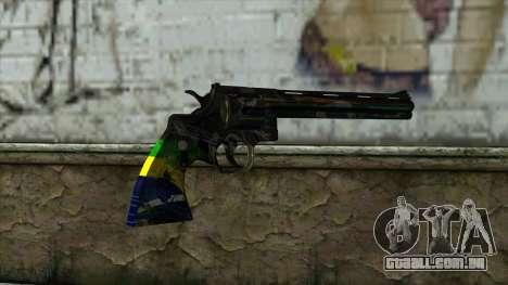Colt Python from PointBlank v1 para GTA San Andreas segunda tela
