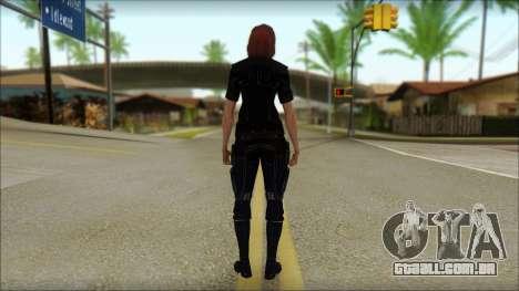Mass Effect Anna Skin v7 para GTA San Andreas segunda tela