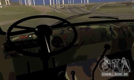 UAZ 452 para GTA San Andreas traseira esquerda vista