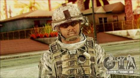 Ranger (CoD: MW2) v5 para GTA San Andreas terceira tela
