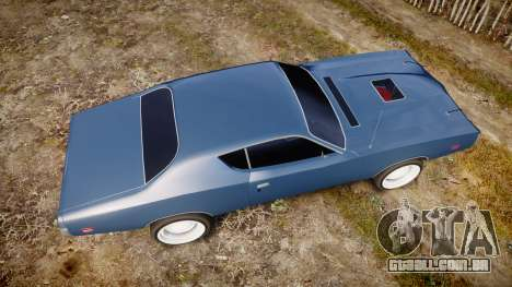 Dodge Charger 1971 v2.0 para GTA 4 vista direita