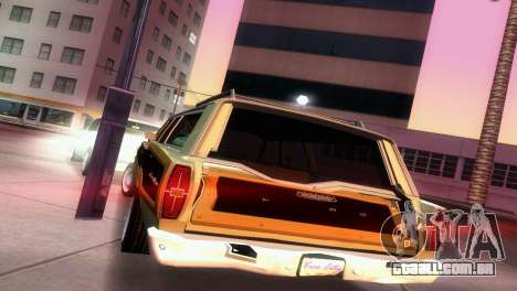 Ford Country Squire para GTA Vice City vista lateral