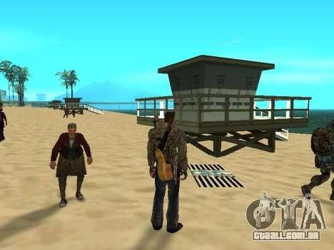 Novos tapetes na praia para GTA San Andreas terceira tela