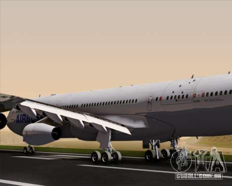 Airbus A340-311 House Colors para o motor de GTA San Andreas