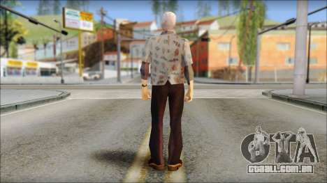 Doc from Back to the Future 1955 para GTA San Andreas segunda tela