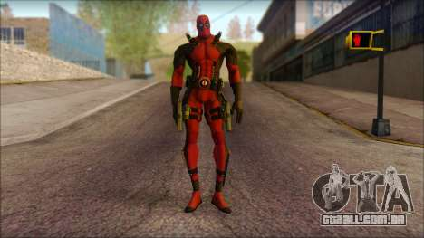 Classic Deadpool The Game Cable para GTA San Andreas