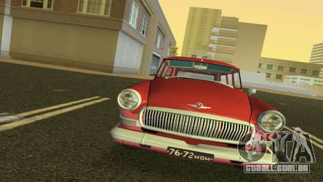 GAZ Volga 22 1965 para GTA Vice City deixou vista