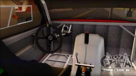 VAZ 2108 Esporte para GTA San Andreas traseira esquerda vista