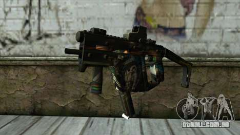 Kriss Super from PointBlank v3 para GTA San Andreas