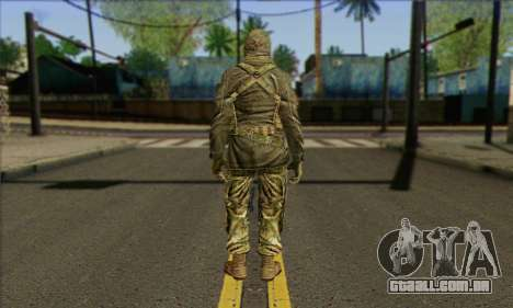 Task Force 141 (CoD: MW 2) Skin 12 para GTA San Andreas segunda tela