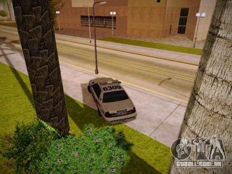 Ford Crown Victoria Toronto Police Service para GTA San Andreas vista interior