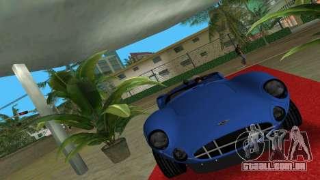 Aston Martin DBR1 para GTA Vice City vista traseira esquerda