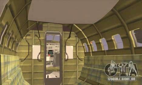 IAI 202 Arava para GTA San Andreas traseira esquerda vista