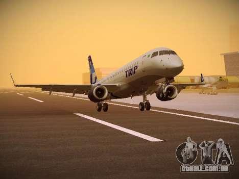 Embraer E190 TRIP Linhas Aereas Brasileira para GTA San Andreas