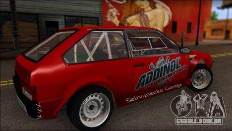 VAZ 2108 Esporte para GTA San Andreas esquerda vista