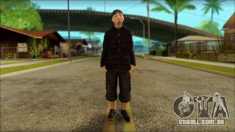 Fred Durst from Limp Bizkit v1 para GTA San Andreas