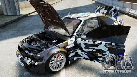 BMW M3 E46 Emre AKIN Edition para GTA 4 vista direita