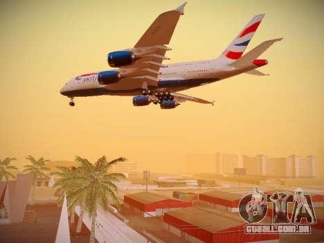 Airbus A380-800 British Airways para o motor de GTA San Andreas