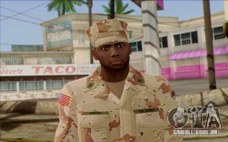 California National Guard Skin 2 para GTA San Andreas terceira tela