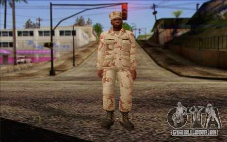 California National Guard Skin 2 para GTA San Andreas