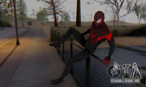 Skin The Amazing Spider Man 2 - New Ultimate para GTA San Andreas quinto tela