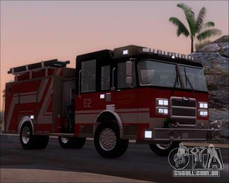 Pierce Arrow XT TFD Engine 2 para GTA San Andreas vista inferior