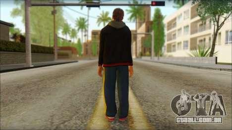 GTA 5 Ped 20 para GTA San Andreas segunda tela