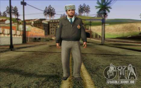A Polícia Da Rússia Pele 3 para GTA San Andreas