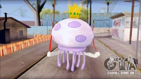 Kingjelly from Sponge Bob para GTA San Andreas