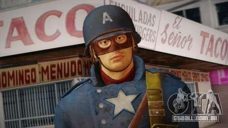 Captain America v2 para GTA San Andreas terceira tela