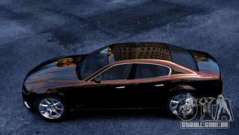 GTA 5 Lampadati Felon para GTA 4 traseira esquerda vista