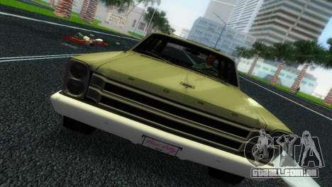 Ford Country Squire para GTA Vice City vista traseira